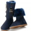UGG Bailey Button Triplet Blue 1
