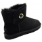 UGG Bailey Button Mini Ornate Black 1