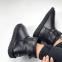 UGG Mini Leather Black 3