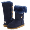 UGG Bailey Button Triplet Blue 0