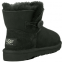 UGG Mini Bailey Button Black 1