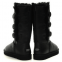 UGG Bailey Button Triplet Leather Black 0