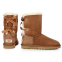 UGG Bailey Bow Chestnut 3