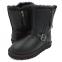 UGG Short Blaise Leather Black 0