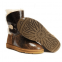 UGG Bailey Button Krinkle Chestnut 3