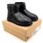 UGG Classic II Mini Leather Black 2