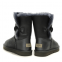 UGG Bailey Button Leather Grey 3