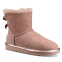 UGG Mini Bailey Bow II Metallic Boot Dusk 0