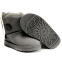 UGG Kid's Bailey Button Grey 1