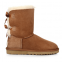 UGG Bailey Bow Chestnut 2