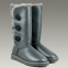 UGG Bailey Button Triplet Leather Grey 0