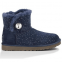 UGG Bailey Button Mini Swarovski Blue 1