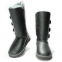 UGG Bailey Button Triplet Leather Grey 2