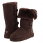 UGG Tall Triplet Button Chocolate II 0