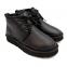 UGG Women's Leather Neumel Black 7