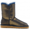 UGG Bailey Button Bling Metallic Blue/Gold 2