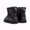 UGG Kids Mini II Boot Leather Black 4