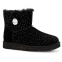 UGG Bailey Button Mini Swarovski Black 0