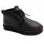 UGG Women's Leather Neumel Black 6