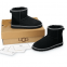 UGG Classic Mini Liberty Black 1