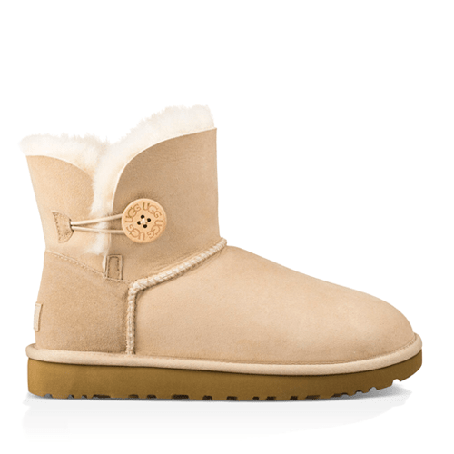 Фото UGG Mini Bailey Button II Sand