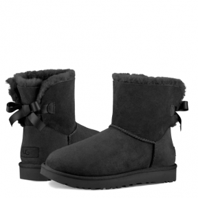 Фото UGG Bailey Bow II Mini Black
