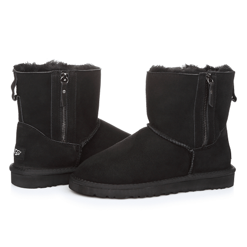 Фото UGG Mini Double Zip Black