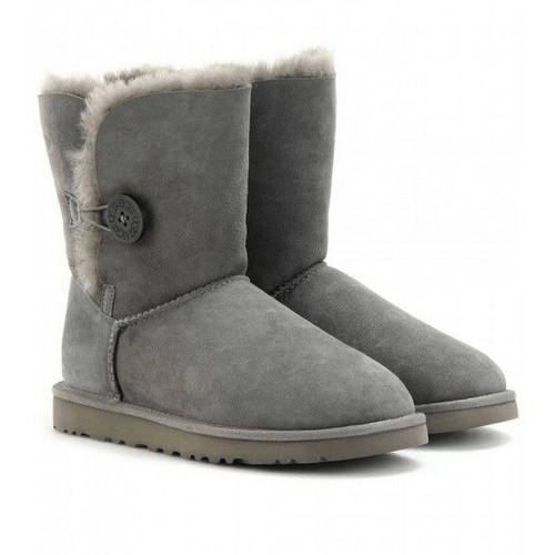 Фото UGG Kid's Bailey Button Grey