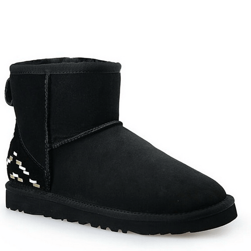 Фото UGG Classic Mini Black Ornament