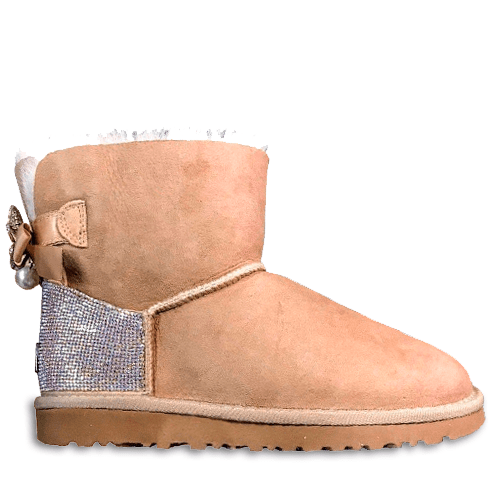Фото UGG Mini Bailey Bow Swarovski Sand