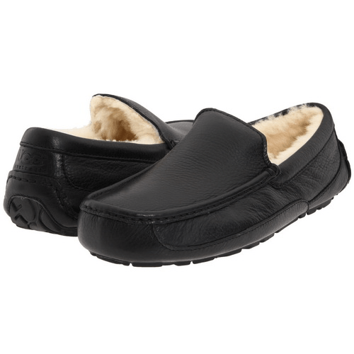 Фото UGG Ascot Leather Black