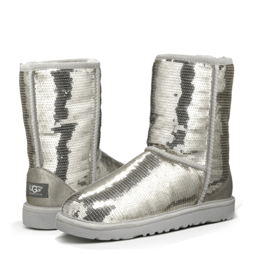 Фото UGG Sparkles Short Silver
