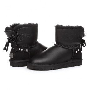 Фото UGG Mini Bailey Bow I Do! Black