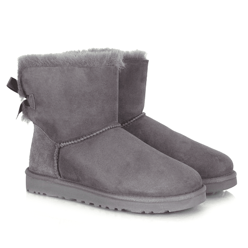 Фото UGG Mini Bailey Bow Grey