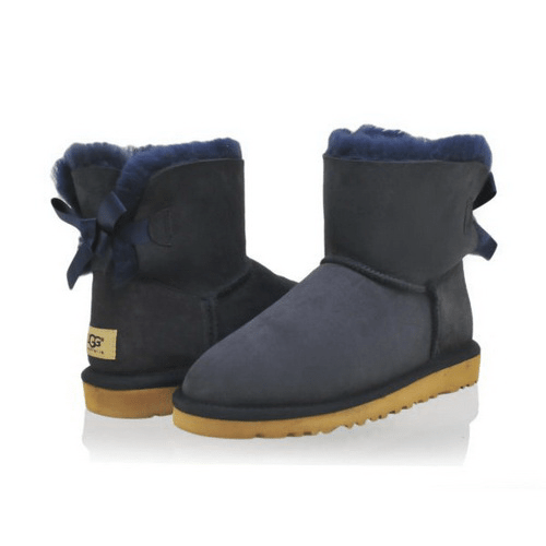 Фото UGG Mini Bailey Bow Navy