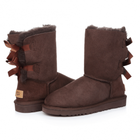 Фото UGG Bailey Bow Chocolate
