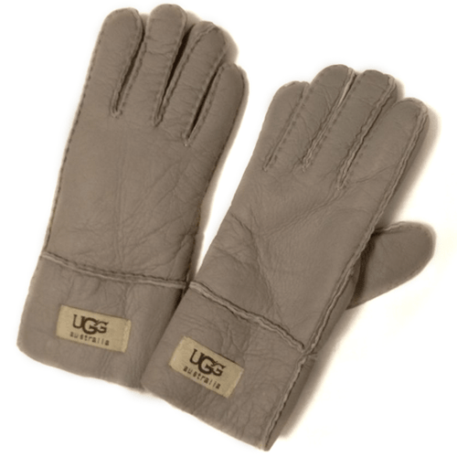 Фото UGG Leather Sand Gloves