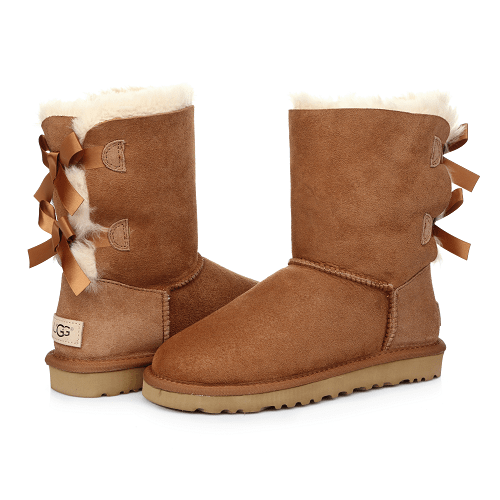 Фото UGG Bailey Bow Chestnut