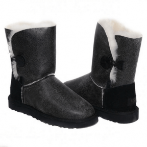 Фото UGG Bailey Button Bomber Grey