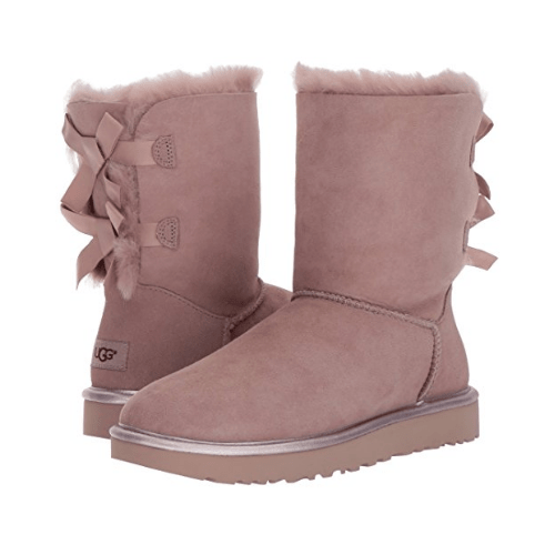 Фото UGG Bailey Bow II Metallic Winter Boot Dusk