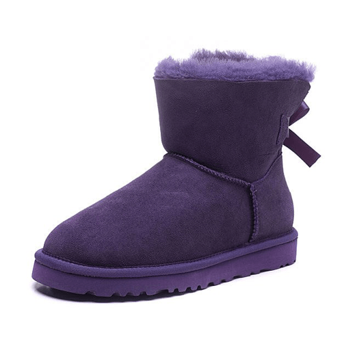 Фото UGG Mini Bailey Bow Purple