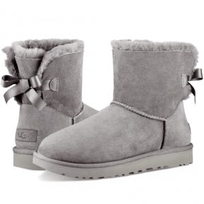 Фото UGG Mini Bailey Bow II Grey