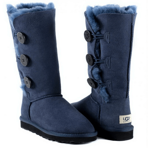 Фото UGG Bailey Button Triplet Blue