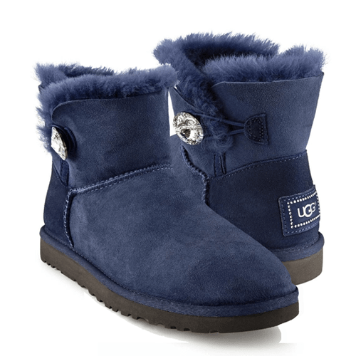 Фото UGG Bailey Bling Mini Navy
