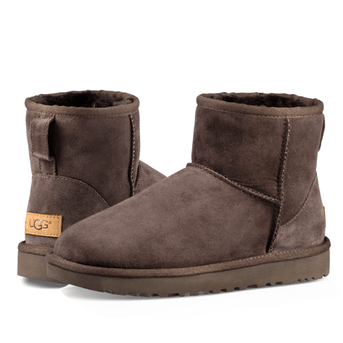 Фото UGG Classic II Mini Chocolate