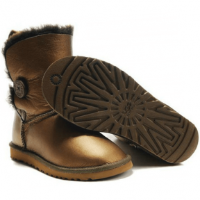Фото UGG Bailey Button Bronze