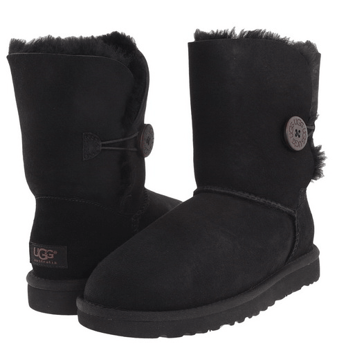 Фото UGG Bailey Button Black