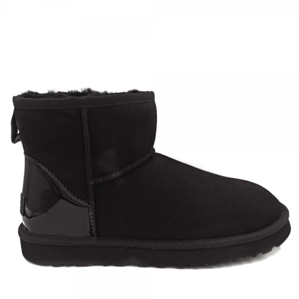 Фото UGG Mini Black Glass Heel