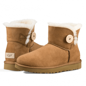 Фото UGG Bailey Button II Mini Chestnut