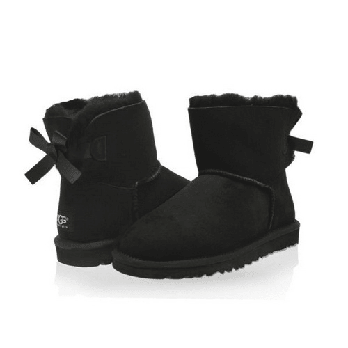 Фото UGG Mini Bailey Bow Black